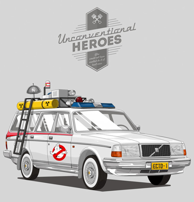 Real world illustrations of our favourite unconventional heroes