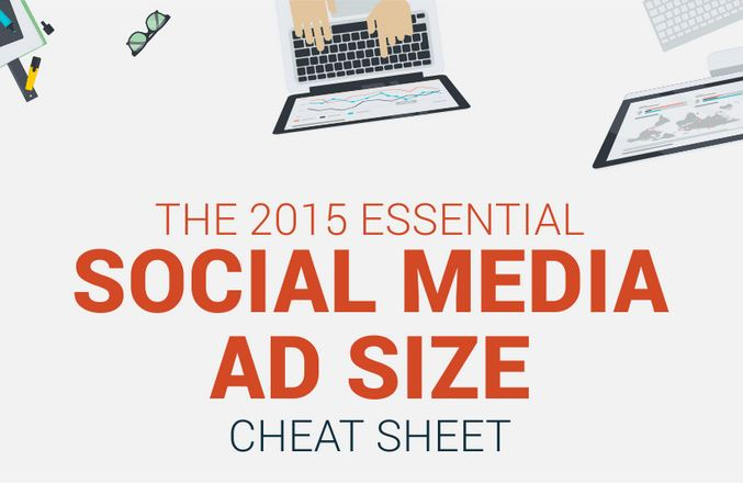 social media ad cheat sheet